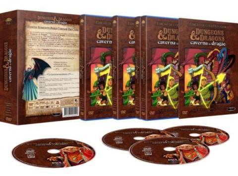 Desenho Caverna do Dragão é lançado em DVD no Brasil