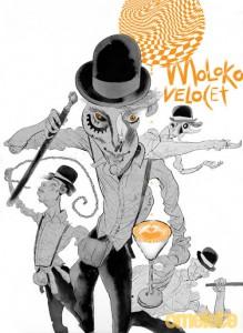 Ilustração de Dave McKean exclusiva para o livro
