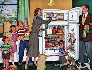 A evolução da geladeira