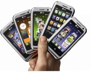 Estudo diz que número de smartphones irá triplicar até 2018