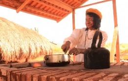 Praticidade na hora de usar o fogão ecológico