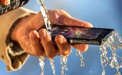 Xperia Z: à prova d'água
