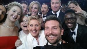 Selfie realizada no Oscar.