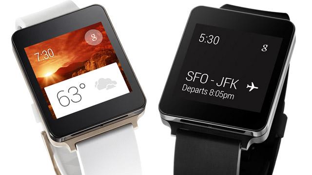 Relógio inteligente da LG