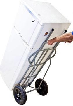 transporte de geladeira